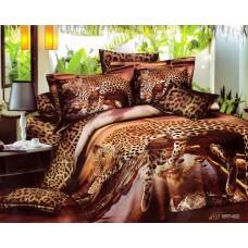Леопарды у воды 3д