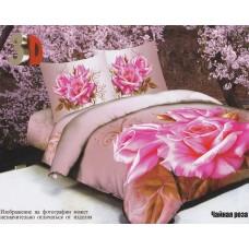 Чайная роза 3д